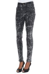 Cj By Cookie Johnson Joy Leggings with Distressed Coating - Lyst