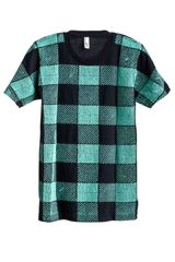 Cynthia Rowley Beaded Gingham Tee - Lyst