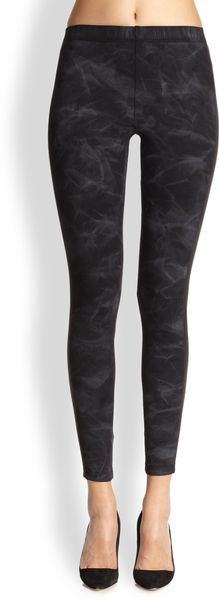 David Lerner Smokeprint Leggings - Lyst