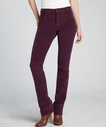 James Jeans Plum Cotton Corduroy Hunter Straight Leg Jeans - Lyst