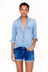 J.Crew Denim Short in Dark Von Wash - Lyst