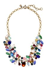 J.Crew Asymmetrical Stone Necklace - Lyst