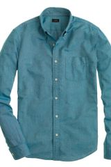 J.Crew Slim Vintage Oxford Shirt in Tonal Cotton - Lyst
