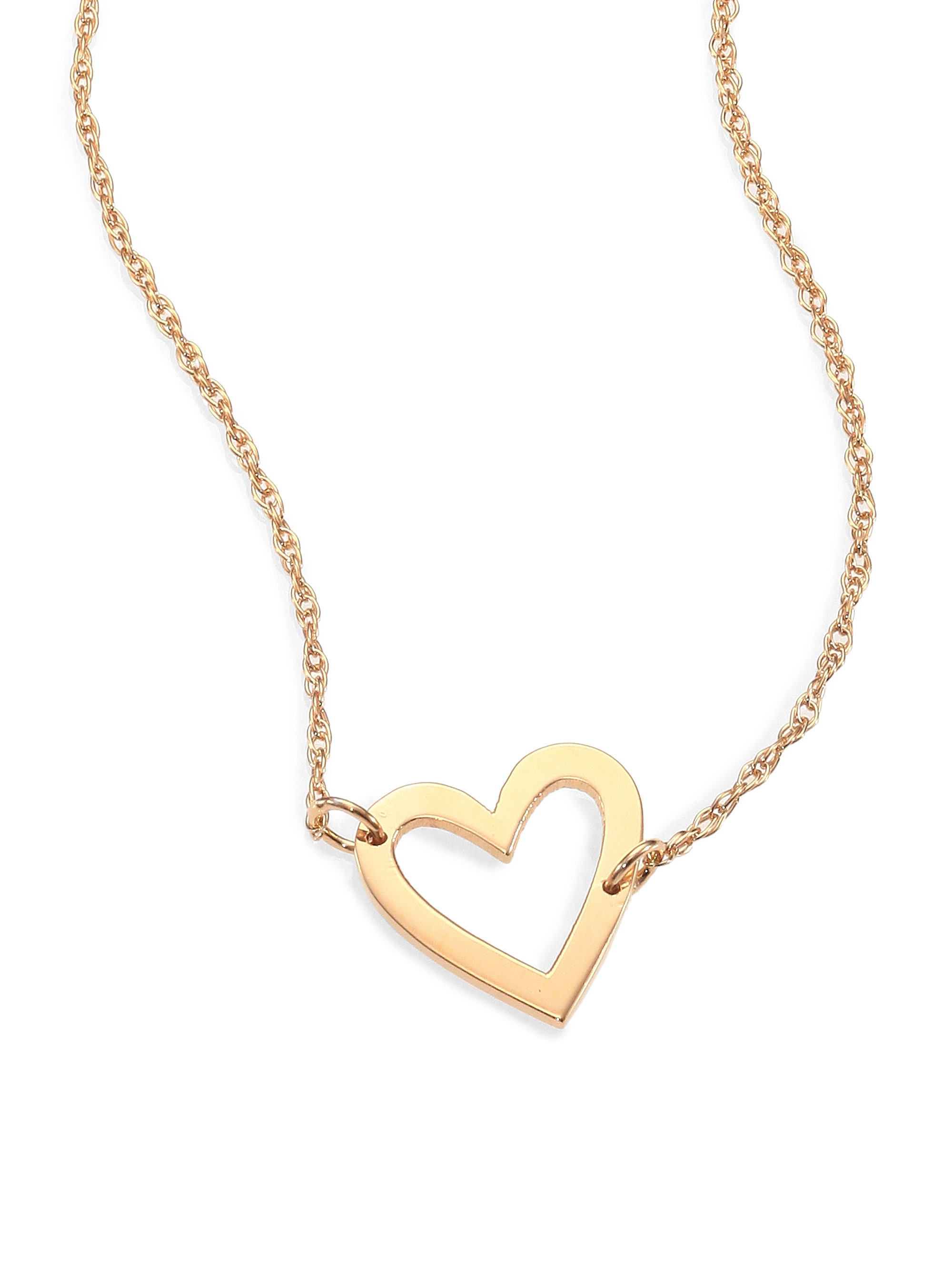 us best claire pendant s necklace heart and open necklaces gold silver friends