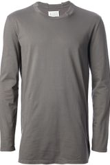 Maison Martin Margiela Long Sleeve T-shirt - Lyst