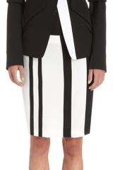 Narciso Rodriguez Structured Gabardine Jacket - Lyst