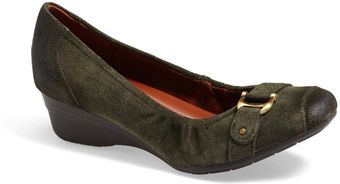 Naturalizer Macey Square Toe Wedge Pump - Lyst