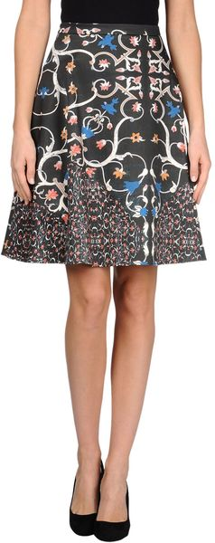 Peter Som Knee Length Skirt - Lyst