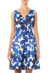 Prabal Gurung Pansy Floral Print Dress - Lyst