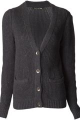 Rag & Bone Flecked Cardigan - Lyst