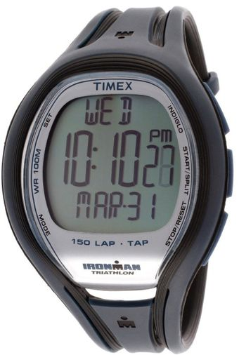 Timex® Mens Multifunction Black Blue Rubber - Lyst