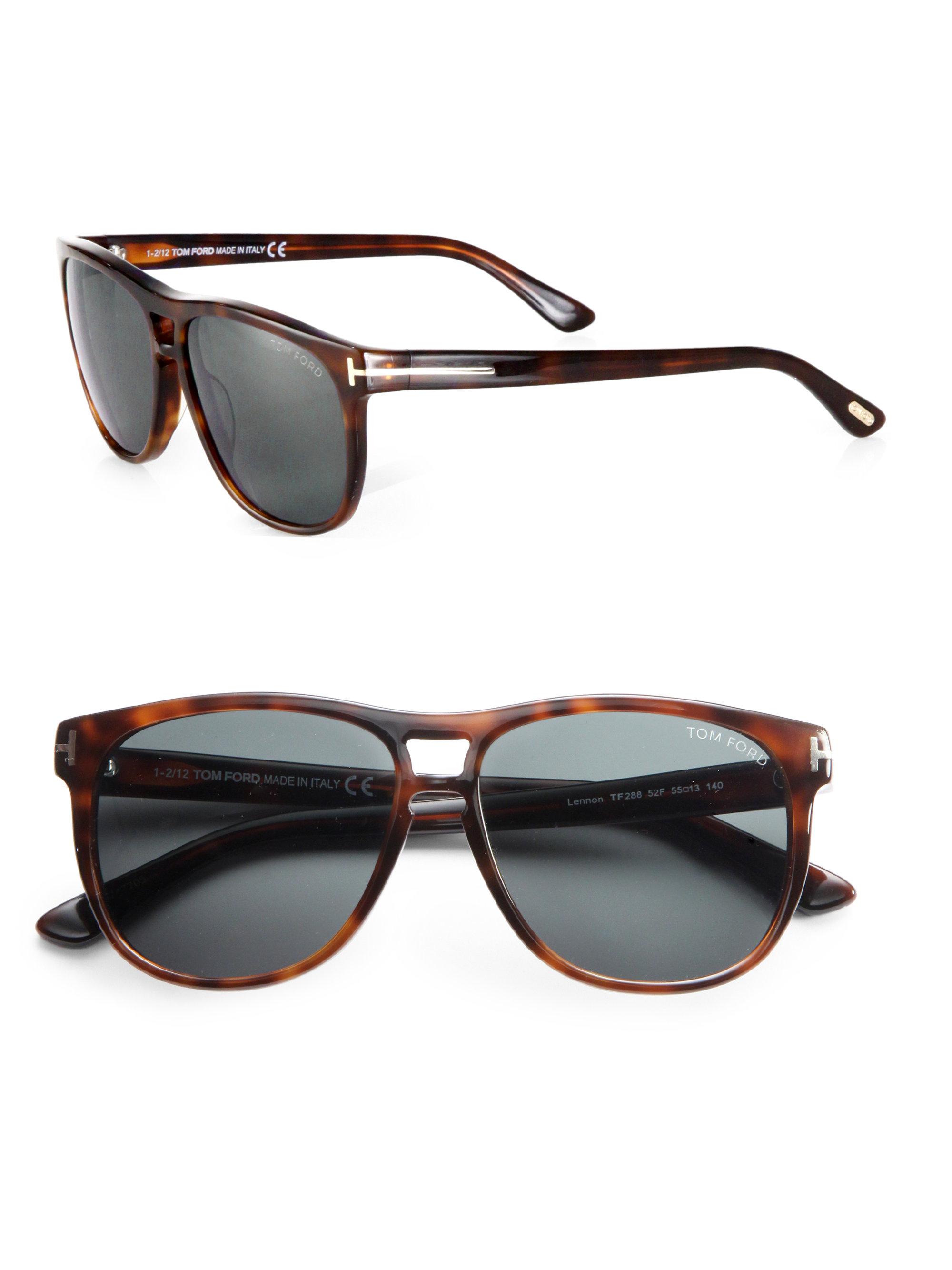 dd82e7ecea848 Tom Ford Callum Sunglasses in Brown for Men - Lyst