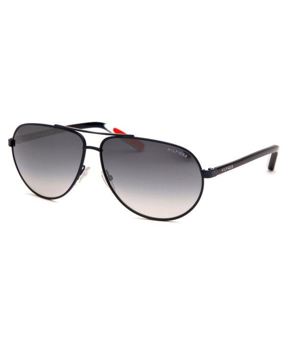 Lyst Tommy Hilfiger Womens Aviator Blue Sunglasses In