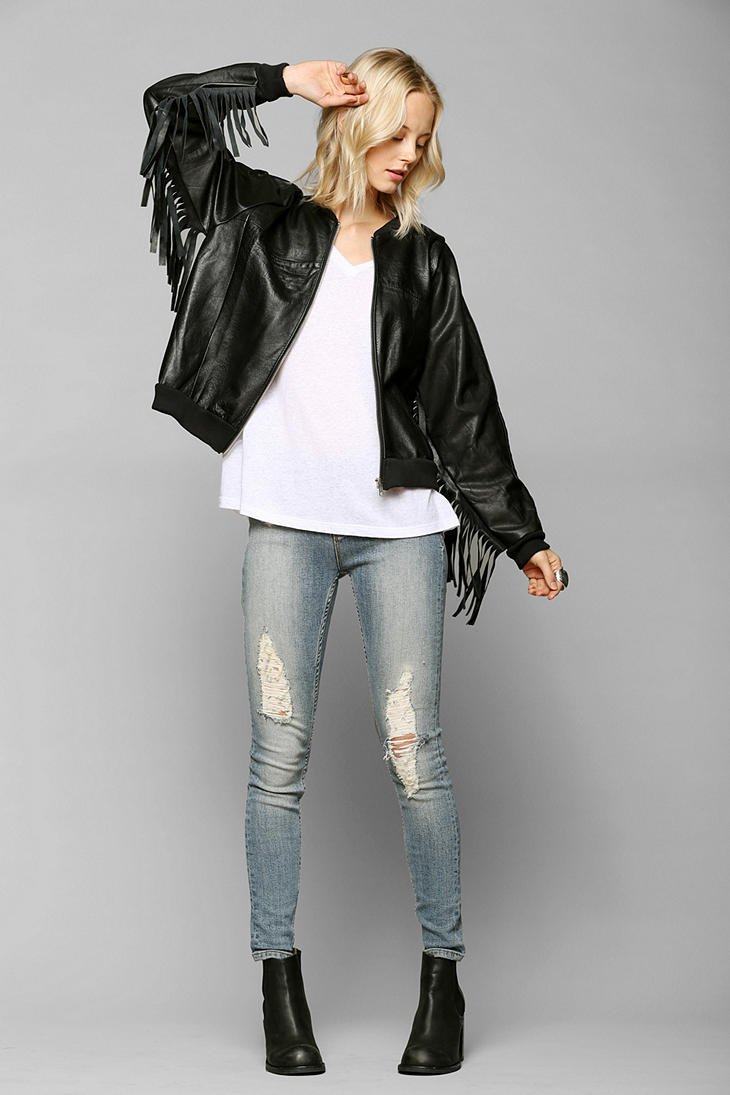 Lyst Urban Outfitters Rag Union X Urban Renewal Leather