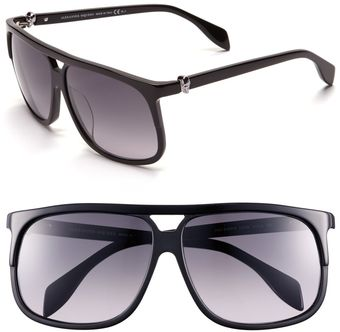 Alexander McQueen Special Fit 61mm Sunglasses - Lyst