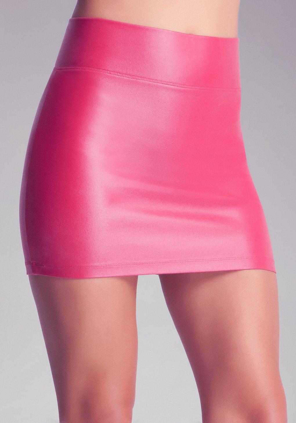 Lyst Bebe High Waist Mini Skirt In Pink