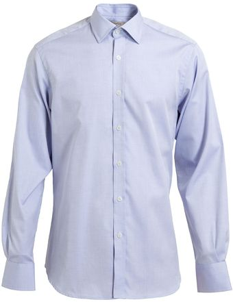 Browns Cotton Oxford Shirt - Lyst