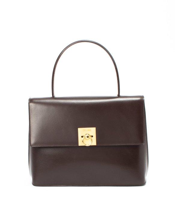 celine black mini luggage bag - celine bandouliere ou ceinture pochette