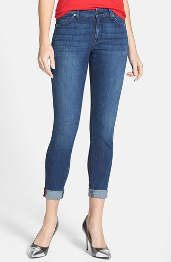 Cj By Cookie Johnson Wisdom Charity Jean Stretch Skinny Ankle Jeans - Lyst