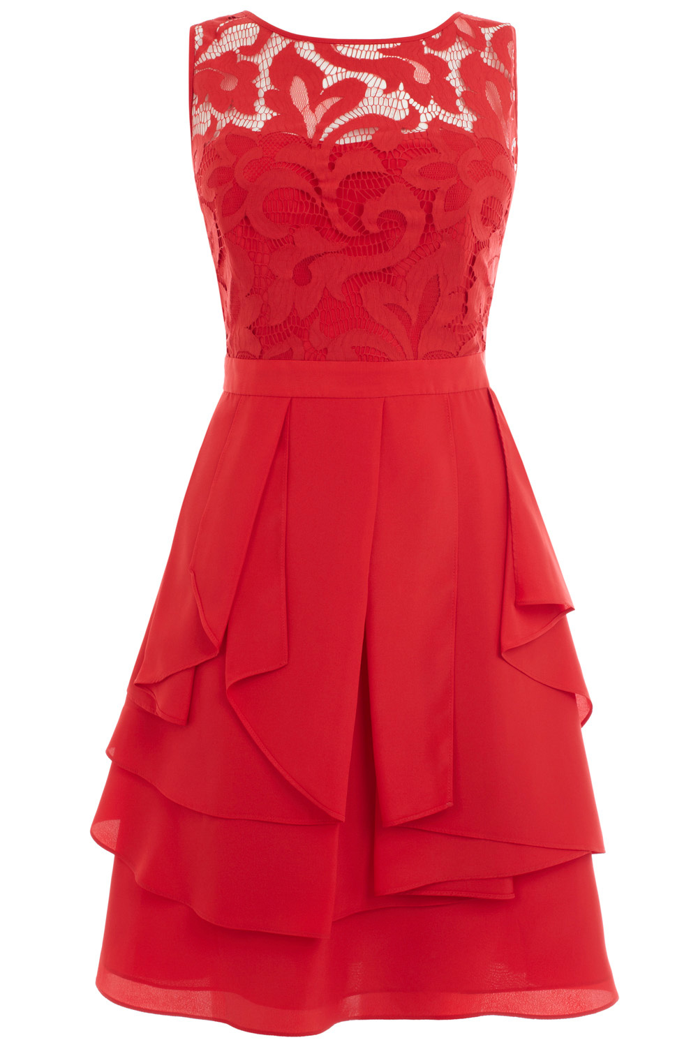 Coast daymee dress in red reds lyst for Dresses to wear to a wedding for teens