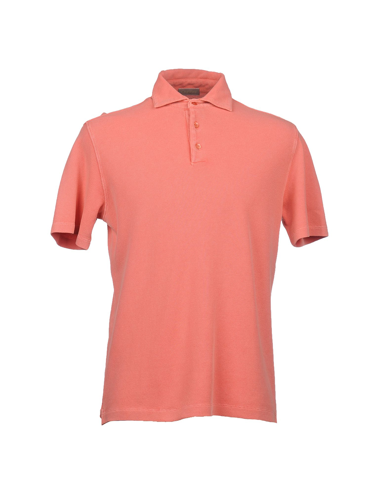Cruciani Polo Shirt In Pink For Men Salmon Pink Lyst