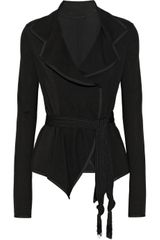 Donna Karan New York Modern Icons Belted Stretchponte Jacket - Lyst