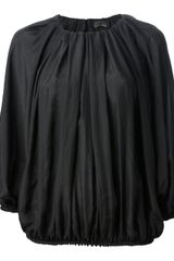 Fendi Pleated Blouse - Lyst