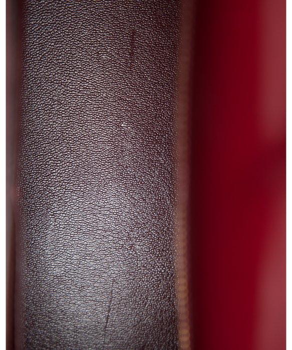 hermes burgundy leather backpack kelly