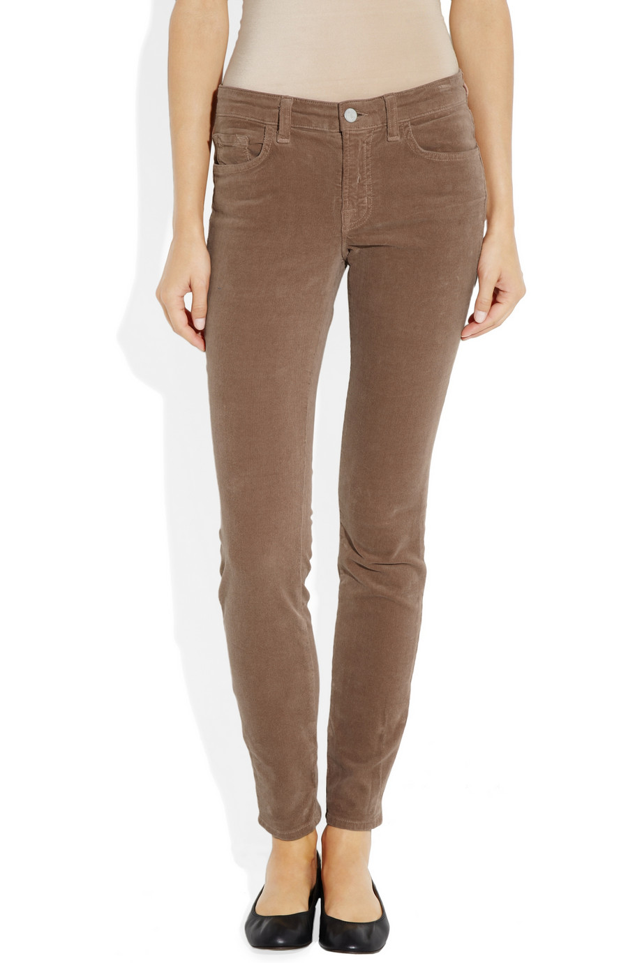 J brand 511 mid rise corduroy skinny jeans