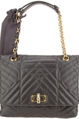 Lanvin Quilted Happy Bag - Lyst