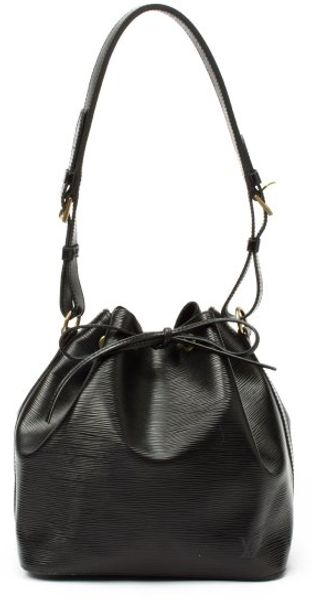 Louis Vuitton Black Epi Leather Petit Noe Drawstring Shoulder Bag - Lyst