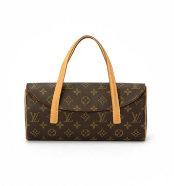 Louis Vuitton Brown Monogram Canvas Sonatine Bag - Lyst