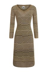 M Missoni Lurex Hexagon Bodycon Dress - Lyst