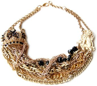 Maria Zureta Dancing Queen Necklace - Lyst