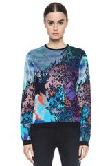 Mary Katrantzou Easy Fit Crew Neck - Lyst