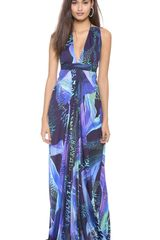Matthew Williamson Escape Strappy Gown - Lyst