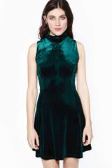 Nasty Gal Envy Velvet Dress - Lyst