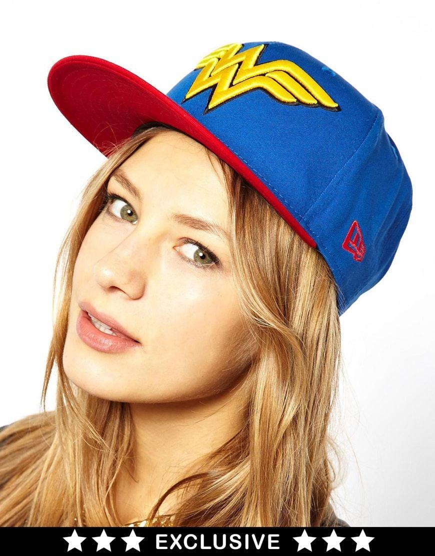 47edda63ac0 Lyst - KTZ Exclusive To Asos Wonder Woman Snapback Cap in Blue
