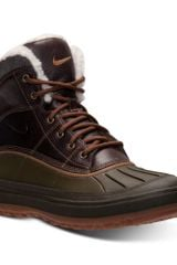 Nike Mens Woodside Ii Boots From Finish Line