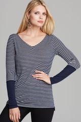 Nydj Stripe Top - Lyst
