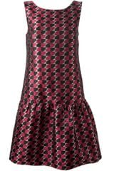 P.a.r.o.s.h. Jacquard Pattern Dress - Lyst
