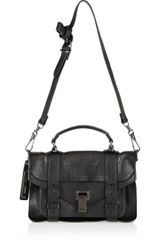 Proenza Schouler The Ps1 Tiny Leather Satchel - Lyst