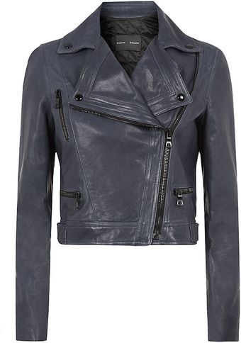 Proenza Schouler Leather Motorcycle Jacket - Lyst