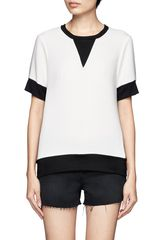 Rag & Bone Colour Block Shortsleeve Tshirt