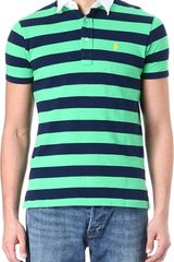 Ralph Lauren Customfit Striped Polo Shirt - Lyst