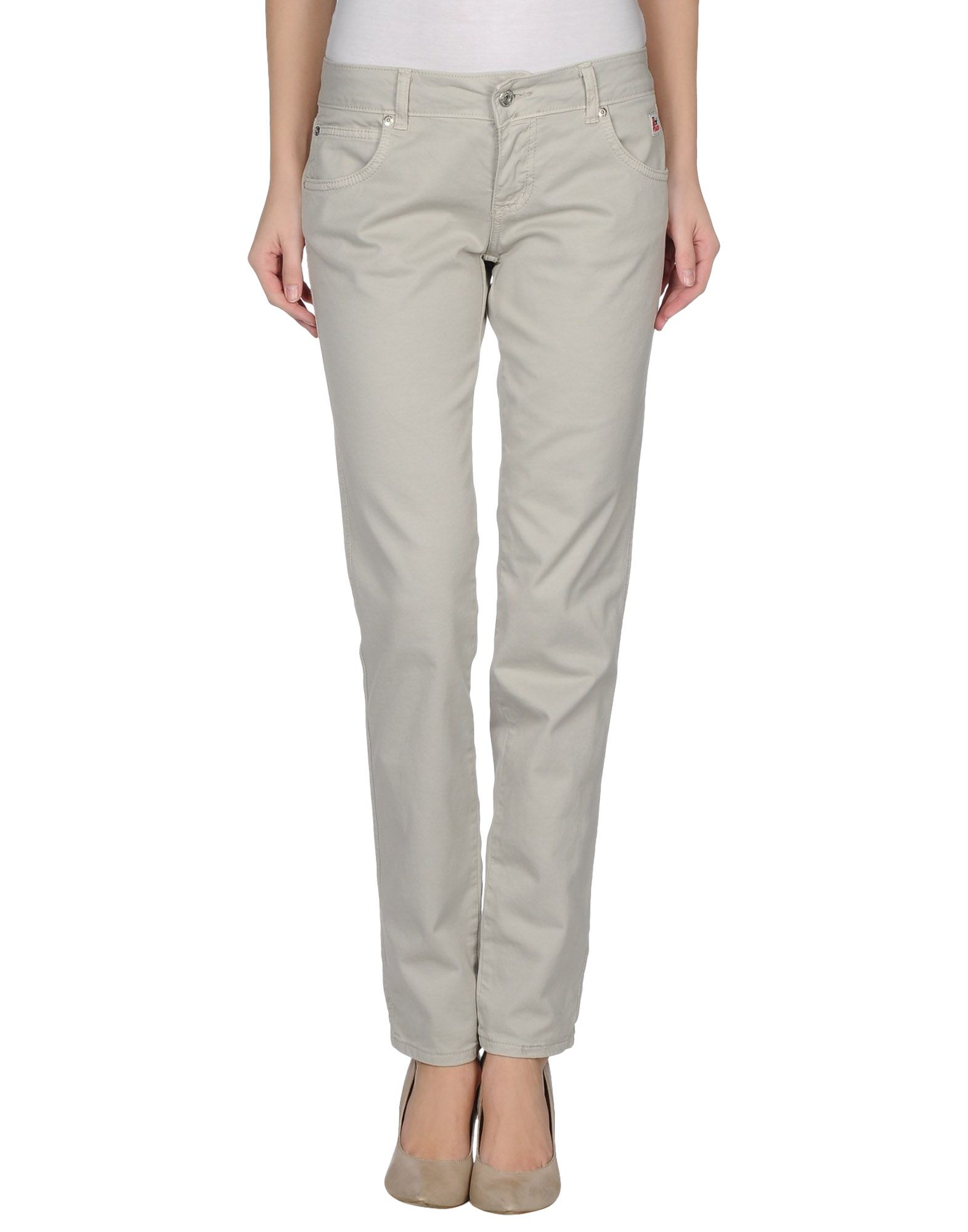 Unique Daniele Alessandrini Casual Trouser In Gray Light Grey  Lyst