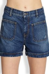 See By Chloé Denim Shorts - Lyst