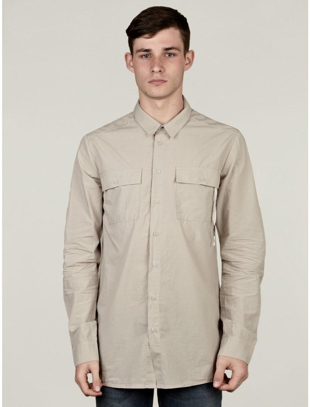 Mens Cream Shirt