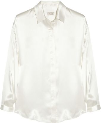 Temperley London Bluebell Silk satin Blouse - Lyst