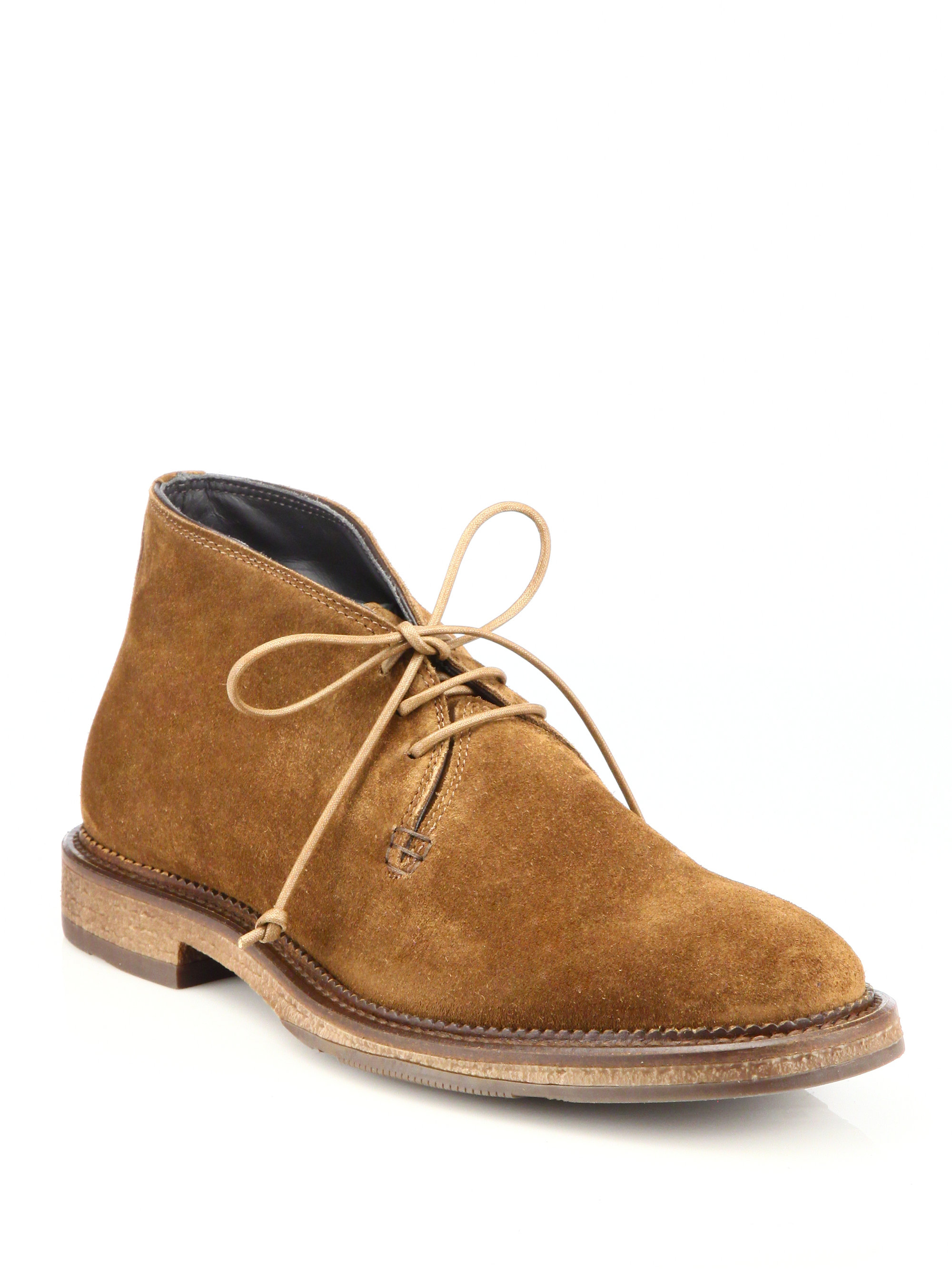 To boot Clarkston Crepe Sole Chukka Boot in Brown for Men ...